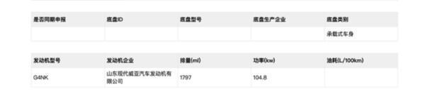 北京现代全新名图将于明年1月上市 采用最新设计语言