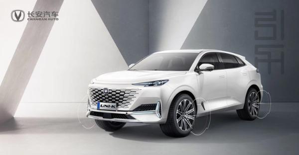 长安UNI系列第二款量产车型官图发布 定名UNI-K/延续无边界设计