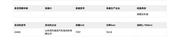 北京现代全新名图将于明年上半年上市 全新设计/两种动力可选