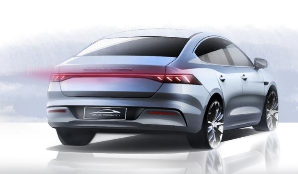 比亚迪全新A+级轿车设计图曝光 外观极具冲击力