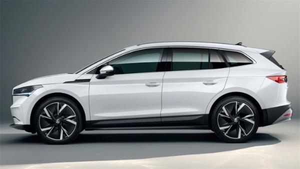 MEB平台首款车型,斯柯达ENYAQ iV正式投产