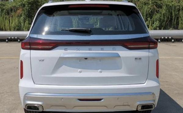 星途VX 2.0T车型申报图曝光 采用最新设计语言