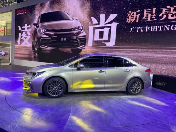 2020广州车展:广汽丰田全新凌尚首发亮相