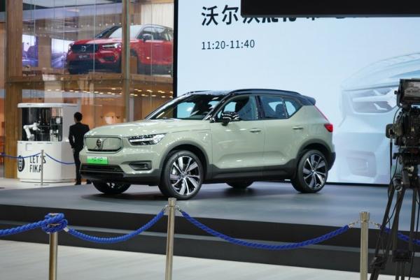 2020广州车展:沃尔沃XC40纯电版上市