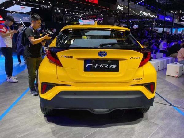 2020广州车展:丰田C-HR混动版亮相