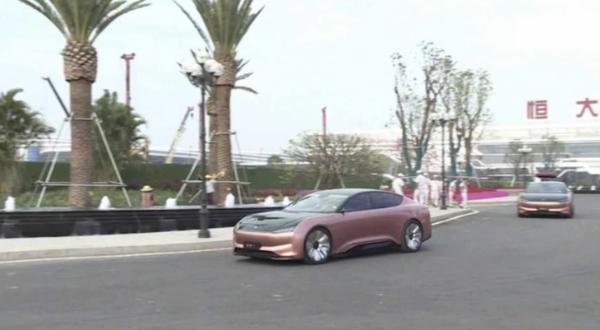 恒大汽车恒驰1实车路试谍照曝光 将于明年上半年试生产