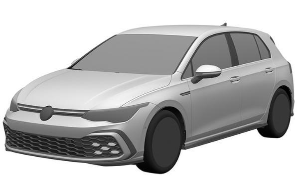 第八代国产高尔夫GTI专利图曝光 搭2.0T发动机
