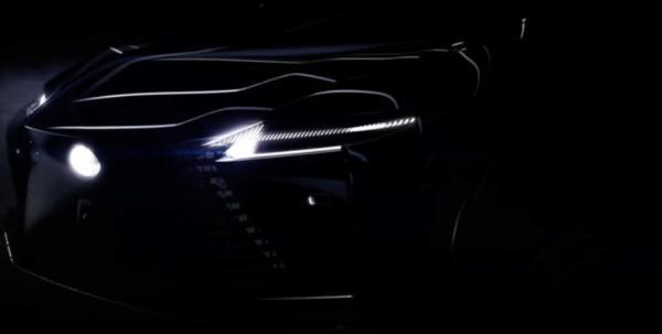 明年一季度发布/2022年量产 雷克萨斯电动概念车预告图发布