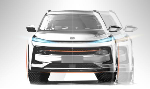 思皓QX设计图曝光 外观设计极具未来科技感