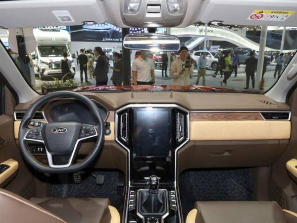 江淮悍途开启预售 预计明年2月正式上市