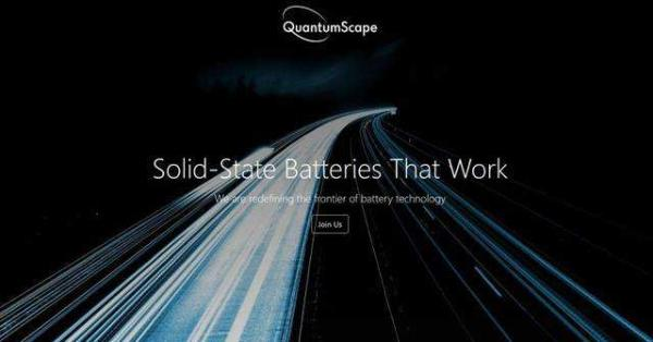 大众投资的固态电池开发商有重大突破