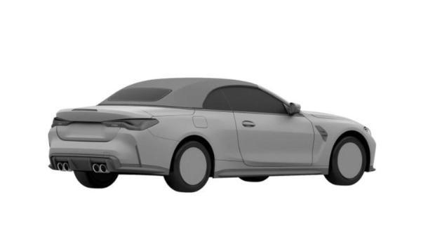 全新宝马M4敞篷版专利图曝光 整体延续硬顶版设计