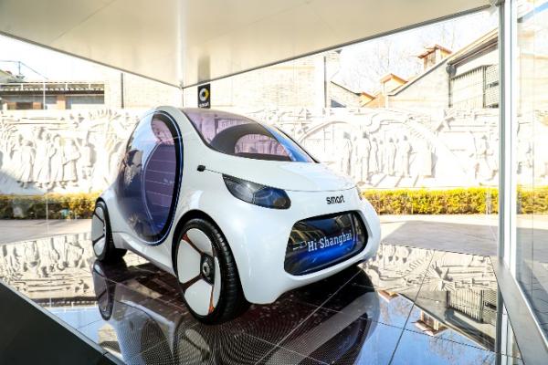 smart合资后首款车型是紧凑型SUV,2022年推出