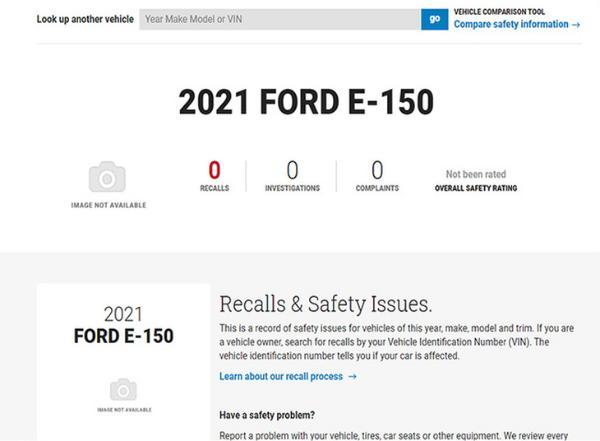 福特F-150纯电版命名E-150 将今年年内正式上市