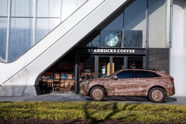 WEY全新SUV谍照曝光 将搭载咖啡智驾系统