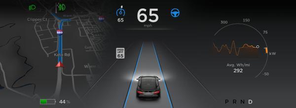 特斯拉或授权第三方汽车制造商的自动驾驶仪