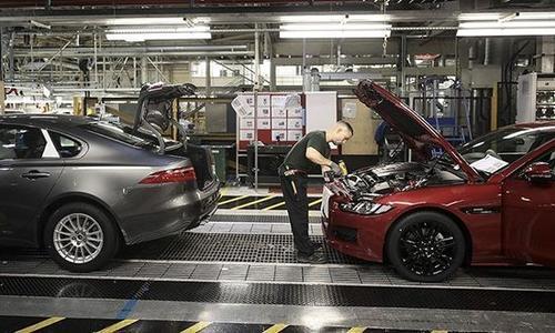 去年英国汽车产量跌至1984年来最低水平