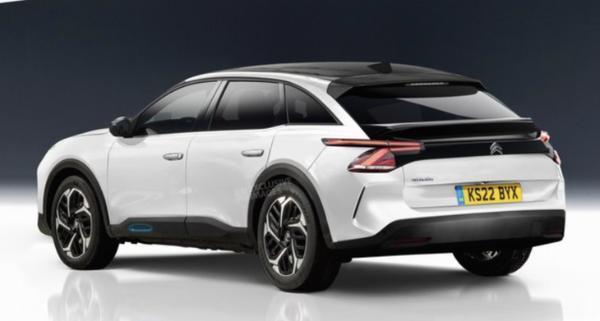 雪铁龙全新旗舰车型渲染图曝光 采用跨界车型设计
