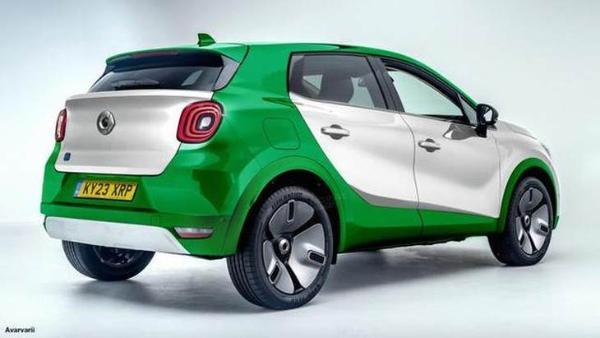 Smart首款纯电SUV渲染图 运动感十足/有望2022年上市