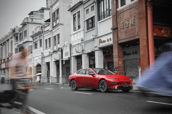 直指Model 3?小鹏新车预告图公布