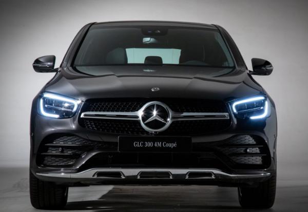 新款奔驰GLC轿跑SUV上市 售46.08-59.88万元