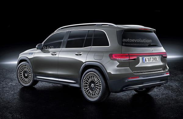 奔驰EQB最新渲染图发布 今年年内上市 未来引入国产