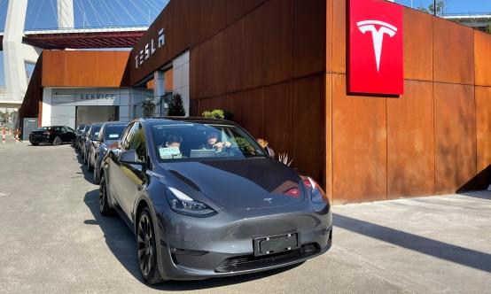 特斯拉在上海举行中国制造Model Y、全新Model 3首发试驾会