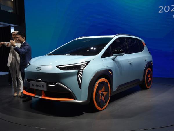 广汽埃安Aion Y三月开启预售 定位紧凑级纯电SUV 充电续航值得期待
