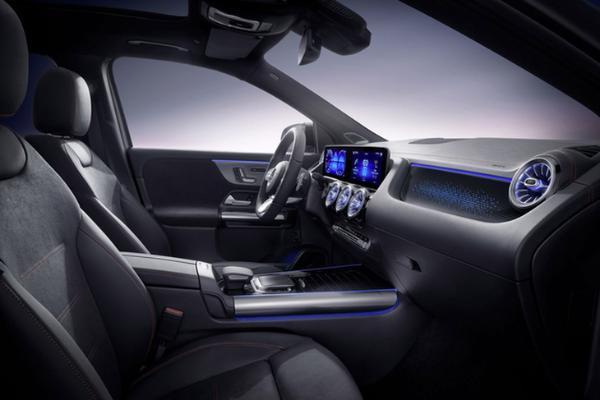 奔驰EQA正式发布 续航里程486km/年内实现国产化生产