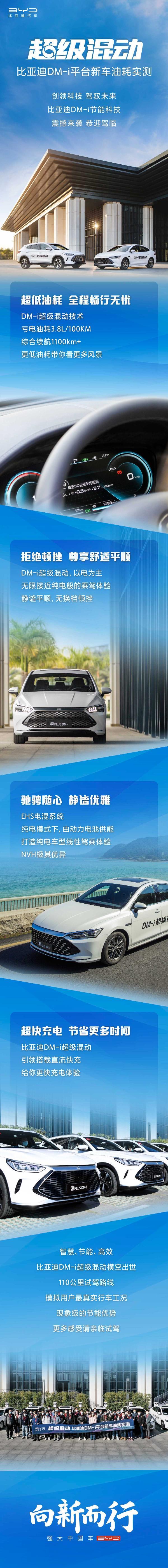 比亚迪三大王朝车型聚首 DM-i超级混动惊艳鹏程
