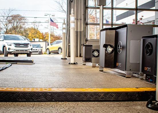 现代投资UVEY将使用UVEY的车辆检测系统来检测工厂车辆缺陷