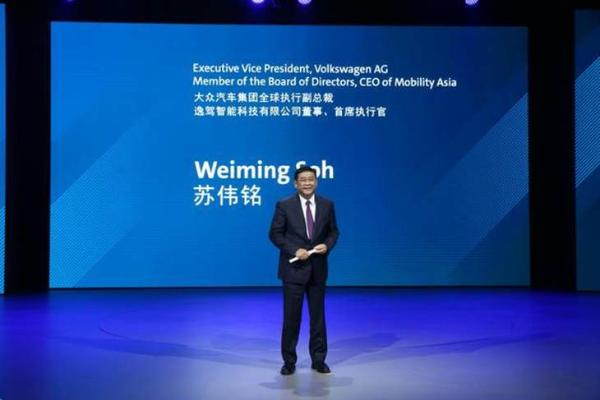 大众全球执行副总裁苏伟明离职前负责业务 将由四人接任