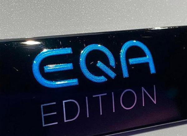 奔驰全新EQA展厅实拍图 多层次前唇/贯穿式尾灯