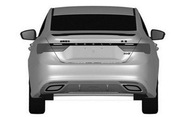 新款吉利缤瑞1.0T车型专利图曝光 价格或进一步下探
