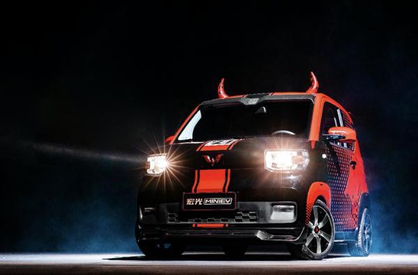 洪光MINIEV累计销量超过15万辆牛年纪念车型正式亮相