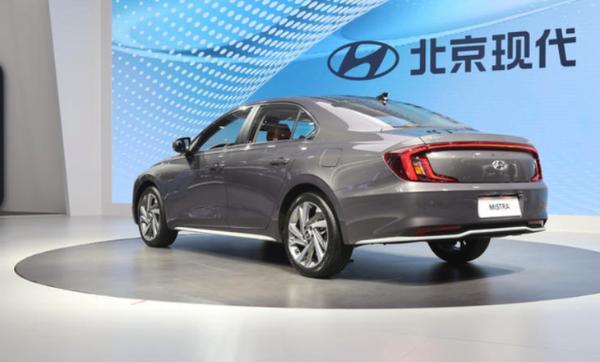 北京现代全新名图开启预售 预售价格区间13.58-17.58万元