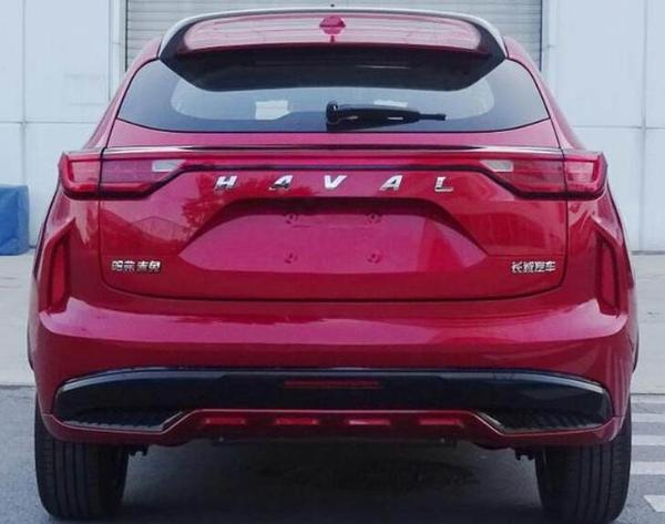 哈弗F5轿跑版申报图 命名赤兔/对标车型荣威RX3