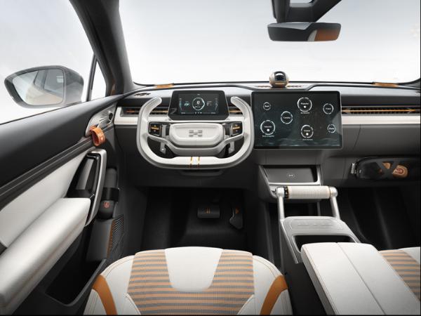 爱驰U6首台白车身下线 基于MAS平台打造