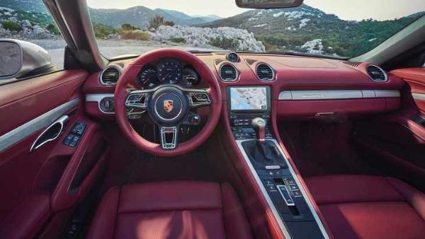 保时捷718 Boxster 25周年纪念版上市 售价98.6万元