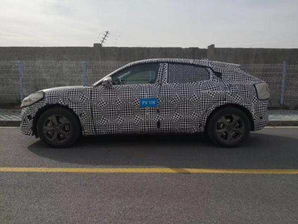 国产福特Mustang Mach-E谍照曝光 2021上海车展正式亮相