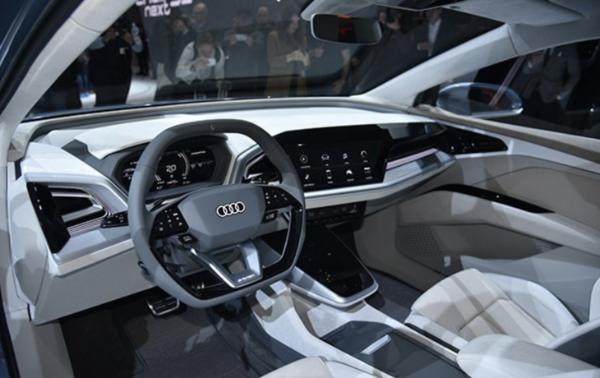 一汽奥迪Q4 e-tron将于2022年投产 续航里程可达550km