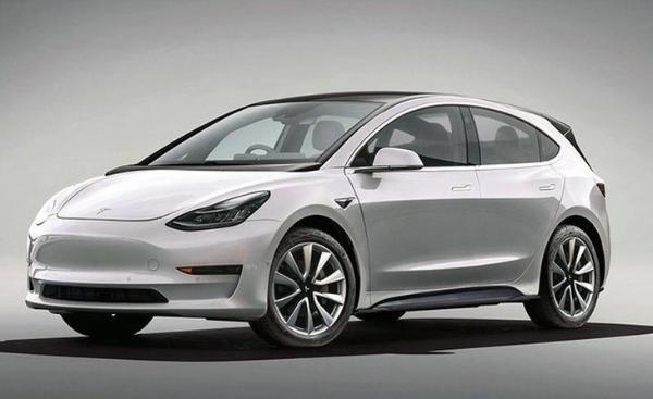 特斯拉全新电动车渲染图 有望3月完成验证/起售价16万元