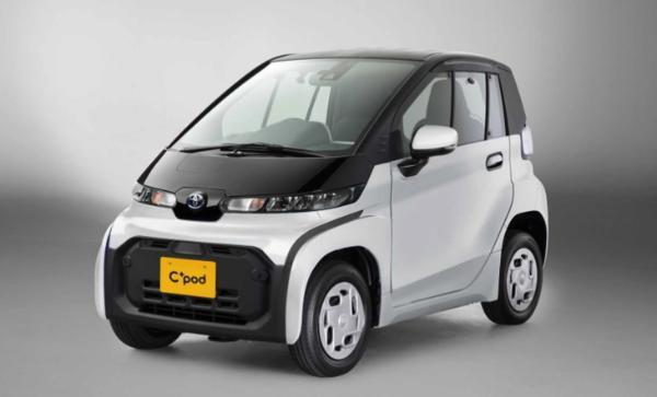 丰田微型电动车C+pod明年上市 约合人民币10.45万元起售