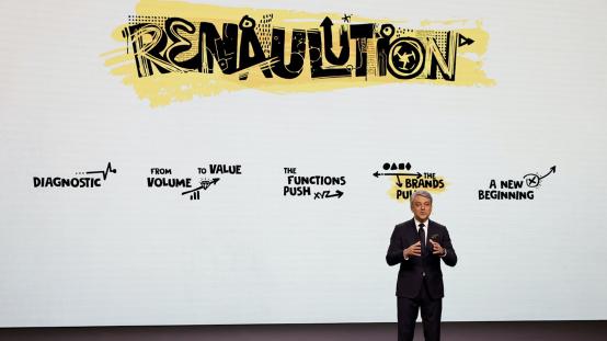 雷诺集团发布新战略计划