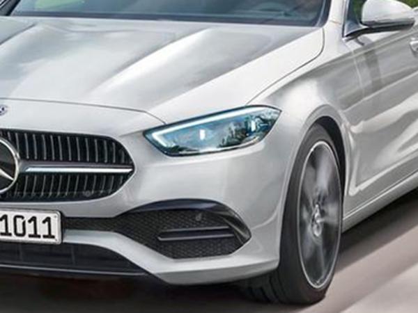 全新奔驰C级轿车效果图 或4月亮相/借鉴新S级设计元素