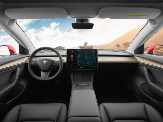 新款特斯拉中国制造Model 3 在北京开始全面交付