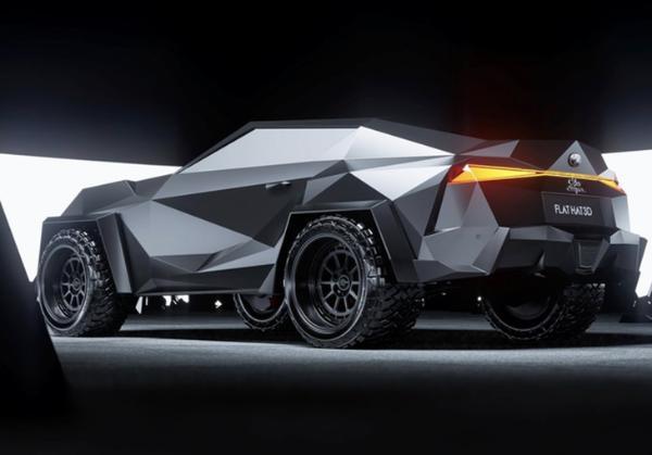 丰田Supra概念车渲染图 灵感来自卡尔曼·金/配全地形轮胎