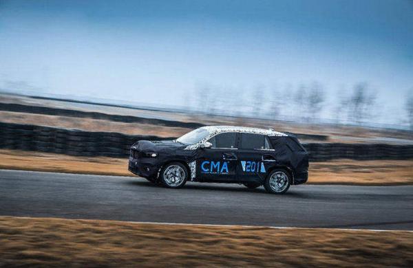 吉利KX11最新消息 将上海车展首发 定位中型SUV