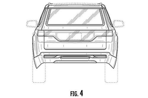 Jeep Grand Wagoneer专利图曝光 全尺寸SUV 定位家族旗舰
