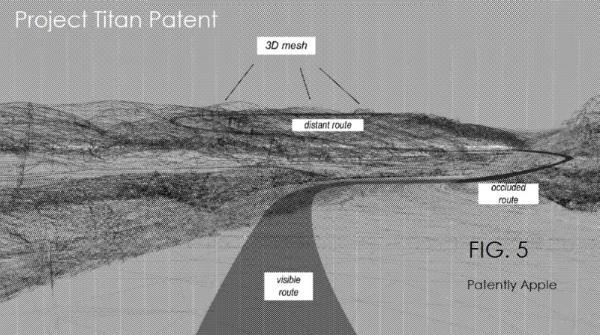 苹果公司获得了三项新的泰坦项目专利 包括3D增强现实平视显示器和新的安全气囊系统